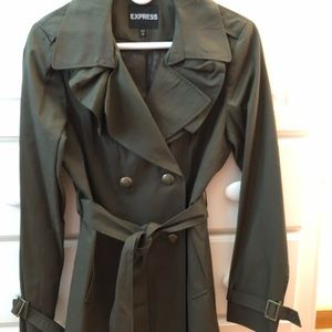 NWOT Express trench coat size M